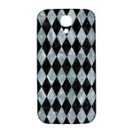 DIAMOND1 BLACK MARBLE & ICE CRYSTALS Samsung Galaxy S4 I9500/I9505  Hardshell Back Case