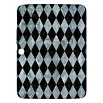 DIAMOND1 BLACK MARBLE & ICE CRYSTALS Samsung Galaxy Tab 3 (10.1 ) P5200 Hardshell Case