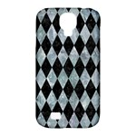 DIAMOND1 BLACK MARBLE & ICE CRYSTALS Samsung Galaxy S4 Classic Hardshell Case (PC+Silicone)