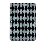 DIAMOND1 BLACK MARBLE & ICE CRYSTALS Samsung Galaxy Tab 2 (10.1 ) P5100 Hardshell Case
