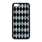 DIAMOND1 BLACK MARBLE & ICE CRYSTALS Apple iPhone 5C Seamless Case (Black)