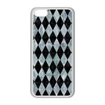 DIAMOND1 BLACK MARBLE & ICE CRYSTALS Apple iPhone 5C Seamless Case (White)