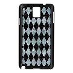 DIAMOND1 BLACK MARBLE & ICE CRYSTALS Samsung Galaxy Note 3 N9005 Case (Black)