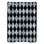 DIAMOND1 BLACK MARBLE & ICE CRYSTALS iPad Air Hardshell Cases