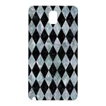 DIAMOND1 BLACK MARBLE & ICE CRYSTALS Samsung Galaxy Note 3 N9005 Hardshell Back Case