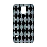 DIAMOND1 BLACK MARBLE & ICE CRYSTALS Samsung Galaxy S5 Hardshell Case