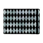 DIAMOND1 BLACK MARBLE & ICE CRYSTALS iPad Mini 2 Flip Cases