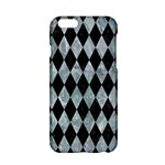 DIAMOND1 BLACK MARBLE & ICE CRYSTALS Apple iPhone 6/6S Hardshell Case