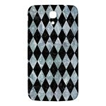 DIAMOND1 BLACK MARBLE & ICE CRYSTALS Samsung Galaxy Mega I9200 Hardshell Back Case