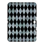 DIAMOND1 BLACK MARBLE & ICE CRYSTALS Samsung Galaxy Tab 4 (10.1 ) Hardshell Case