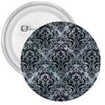 DAMASK1 BLACK MARBLE & ICE CRYSTALS 3  Buttons