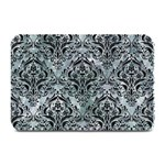 DAMASK1 BLACK MARBLE & ICE CRYSTALS Plate Mats