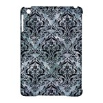 DAMASK1 BLACK MARBLE & ICE CRYSTALS Apple iPad Mini Hardshell Case (Compatible with Smart Cover)