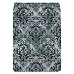 DAMASK1 BLACK MARBLE & ICE CRYSTALS Flap Covers (S)