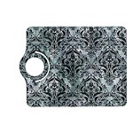 DAMASK1 BLACK MARBLE & ICE CRYSTALS Kindle Fire HD (2013) Flip 360 Case