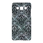 DAMASK1 BLACK MARBLE & ICE CRYSTALS Samsung Galaxy A5 Hardshell Case