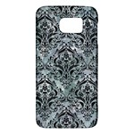 DAMASK1 BLACK MARBLE & ICE CRYSTALS Galaxy S6