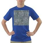 HEXAGON1 BLACK MARBLE & ICE CRYSTALS Dark T-Shirt
