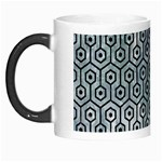 HEXAGON1 BLACK MARBLE & ICE CRYSTALS Morph Mugs