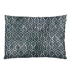 HEXAGON1 BLACK MARBLE & ICE CRYSTALS Pillow Case