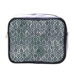 HEXAGON1 BLACK MARBLE & ICE CRYSTALS Mini Toiletries Bags