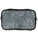 HEXAGON1 BLACK MARBLE & ICE CRYSTALS Toiletries Bags 2-Side