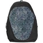 HEXAGON1 BLACK MARBLE & ICE CRYSTALS Backpack Bag
