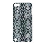 HEXAGON1 BLACK MARBLE & ICE CRYSTALS Apple iPod Touch 5 Hardshell Case