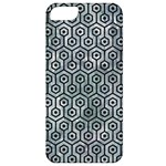 HEXAGON1 BLACK MARBLE & ICE CRYSTALS Apple iPhone 5 Classic Hardshell Case