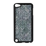 HEXAGON1 BLACK MARBLE & ICE CRYSTALS Apple iPod Touch 5 Case (Black)