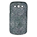 HEXAGON1 BLACK MARBLE & ICE CRYSTALS Samsung Galaxy S III Classic Hardshell Case (PC+Silicone)