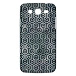 HEXAGON1 BLACK MARBLE & ICE CRYSTALS Samsung Galaxy Mega 5.8 I9152 Hardshell Case