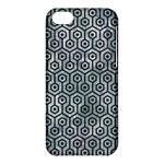 HEXAGON1 BLACK MARBLE & ICE CRYSTALS Apple iPhone 5C Hardshell Case
