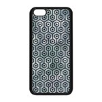 HEXAGON1 BLACK MARBLE & ICE CRYSTALS Apple iPhone 5C Seamless Case (Black)