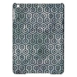HEXAGON1 BLACK MARBLE & ICE CRYSTALS iPad Air Hardshell Cases
