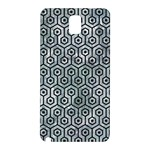 HEXAGON1 BLACK MARBLE & ICE CRYSTALS Samsung Galaxy Note 3 N9005 Hardshell Back Case
