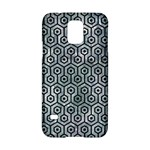 HEXAGON1 BLACK MARBLE & ICE CRYSTALS Samsung Galaxy S5 Hardshell Case