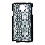 HEXAGON1 BLACK MARBLE & ICE CRYSTALS Samsung Galaxy Note 3 Neo Hardshell Case (Black)