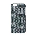 HEXAGON1 BLACK MARBLE & ICE CRYSTALS Apple iPhone 6/6S Hardshell Case