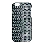 HEXAGON1 BLACK MARBLE & ICE CRYSTALS Apple iPhone 6 Plus/6S Plus Hardshell Case
