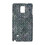 HEXAGON1 BLACK MARBLE & ICE CRYSTALS Samsung Galaxy Note 4 Hardshell Case