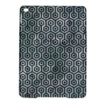 HEXAGON1 BLACK MARBLE & ICE CRYSTALS iPad Air 2 Hardshell Cases