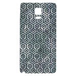 HEXAGON1 BLACK MARBLE & ICE CRYSTALS Galaxy Note 4 Back Case
