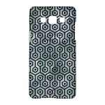 HEXAGON1 BLACK MARBLE & ICE CRYSTALS Samsung Galaxy A5 Hardshell Case