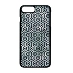 HEXAGON1 BLACK MARBLE & ICE CRYSTALS Apple iPhone 7 Plus Seamless Case (Black)