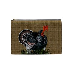 Thanksgiving Turkey Cosmetic Bag (medium)