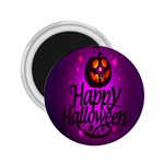 Happy Ghost Halloween 2.25  Magnets