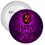Happy Ghost Halloween 3  Buttons