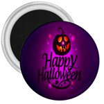 Happy Ghost Halloween 3  Magnets