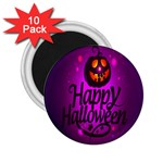 Happy Ghost Halloween 2.25  Magnets (10 pack)